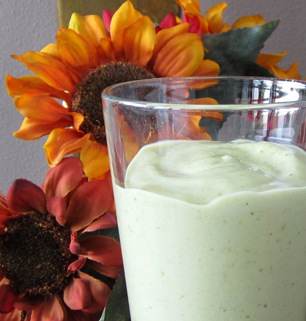 Healthy Vegan Shamrock Shake Recipe