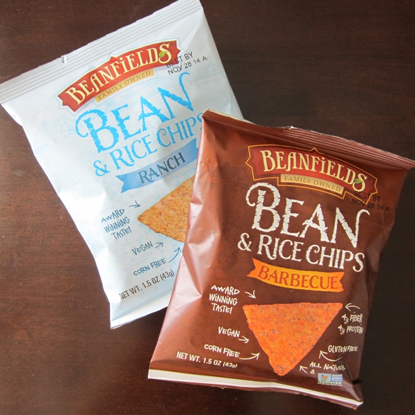 Beanfield's Bean and Rice Chips - Crazy Addictive All-Natural Flavors (Nacho, Barbecue, Ranch, etc.) - all gluten-free + #dairyfree