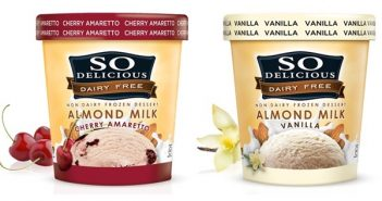 So Delicious Dairy Free Almond Milk Ice Cream - Dairy-Free, Vegan, Low Sugar, and Low Fat