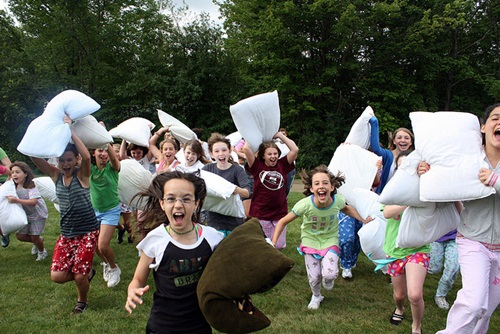 Camp Emerson Pillow Fight Event - Food Allergy Camps