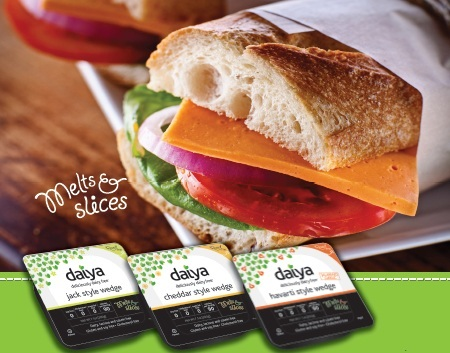 Daiya Foods Deliciously Dairy Free Vegan Cheese Wedges