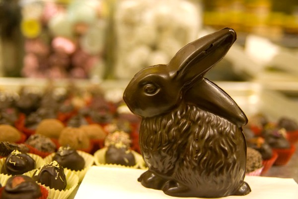 Vegan, Gluten-Free and Dairy-Free Chocolate Easter Bunny or Bunnies
