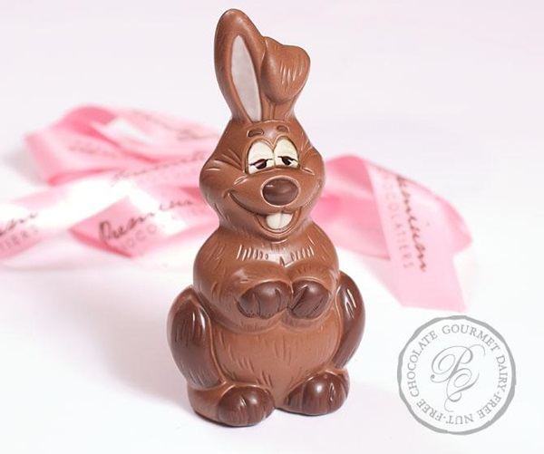 Vegan and Dairy-Free Chocolate Easter Bunny or Bunnies