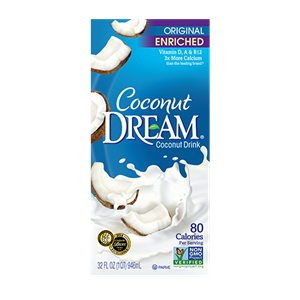 Coconut Dream Milk Beverages Review and Information - Ingredients, Ratings and more for this dairy-free, vegan coconut milk beverage product line.