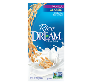 Rice Dream Milk Beverages Review and Info - ingredients, nutrition facts, ratings, and notes on this dairy-free, vegan, nut-free rice milk line - organic, sprouted, enriched, and horchata!