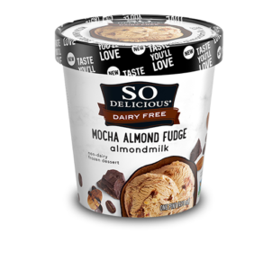 So Delicious Dairy Free Almond Milk Ice Cream - Gluten-Free Cookies n Cream