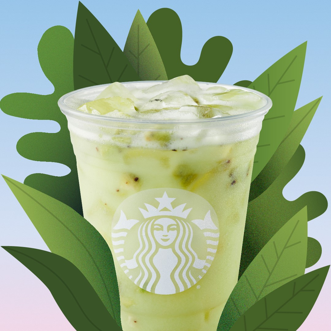 Starbucks Hits Refresh with New Flavors for Dairy-Free Iced Drink Menu. Latest Addition: Star Drink made with Kiwi Starfruit Refreshers and Coconutmlk