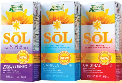 Sol Sunflower Milk Alternative from Sunrich Naturals: Dairy-Free, Gluten-Free, Soy-Free, Nut-Free, Vegan