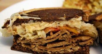 Vegan Reuben Sandwich