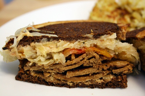 Reuben Vegan Sandwich