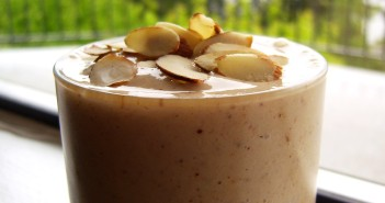This Creamy, Healthy, Protein Almond Shake recipe is one that you'll crave every day - I do! It's naturally dairy-free, gluten-free, soy-free and vegan & takes just 5 MINUTES to blend up!