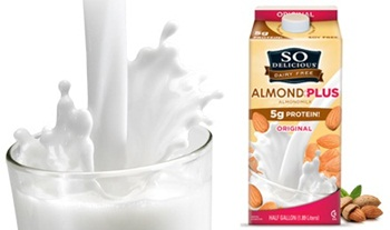 So Delicious Dairy Free AlmondPlus Almond Milk