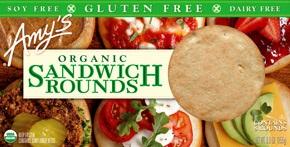 Amy's Organic Gluten-Free Sandwich Rounds