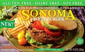 Amy's Sonoma Veggie Burgers