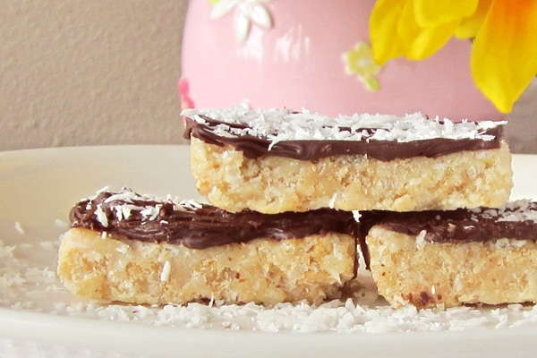 Coconut Rice Crispy Bars Recipe