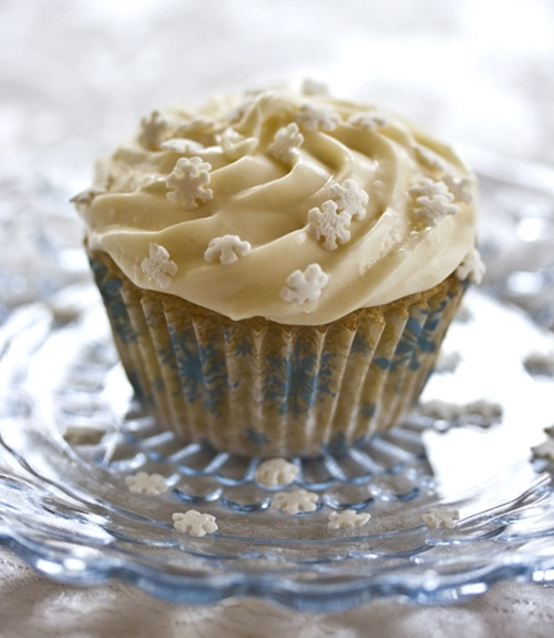 Vanilla Vegan Gluten-Free Cupcakes with Dairy-Free Buttercream