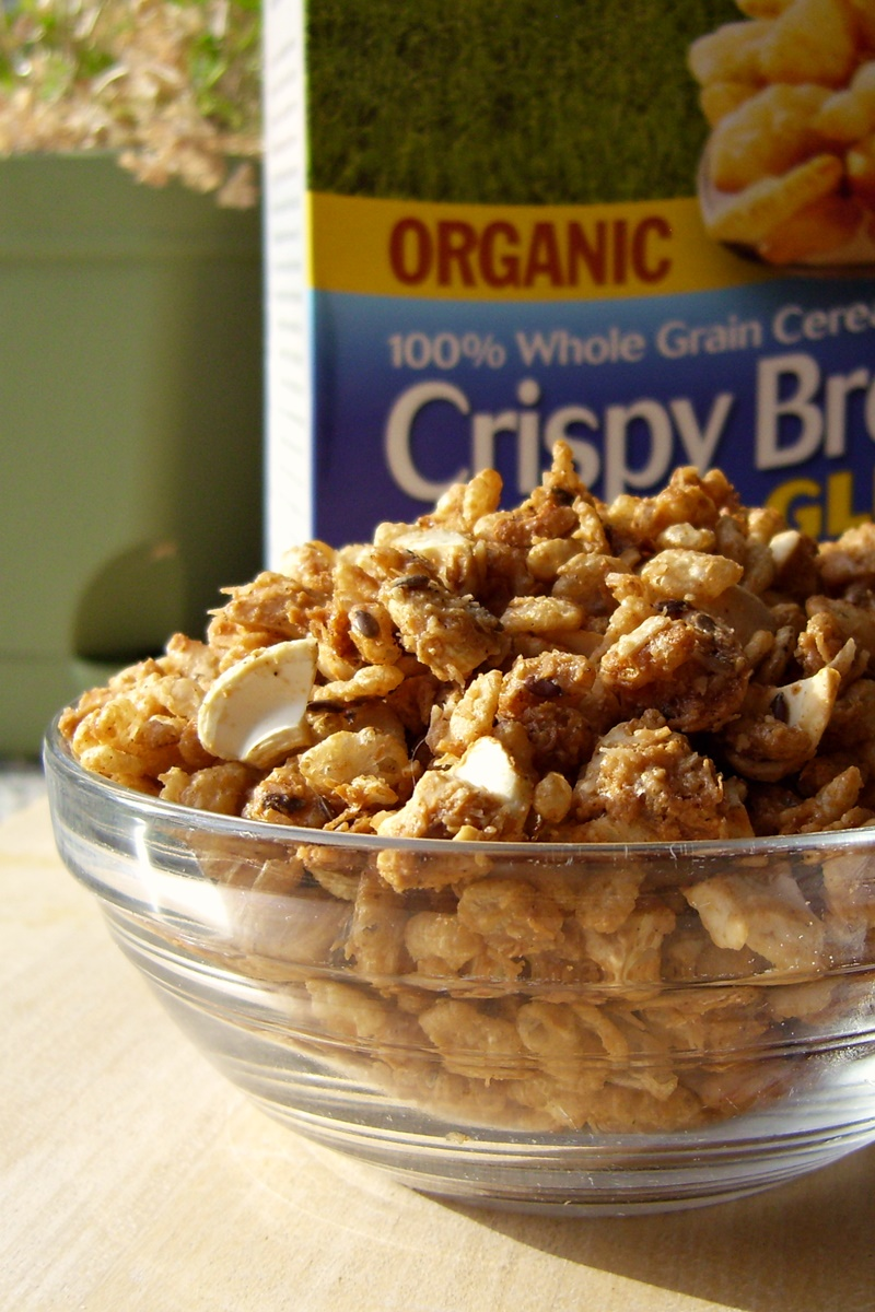 Crispy Maple Gluten-Free Granola Recipe (Oat-Free)