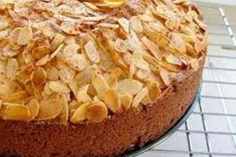 Honey Almond Cake - Go Dairy Free