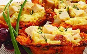 Gluten-Free Brunch Recipe: Eggs in Sweet Potato Nests