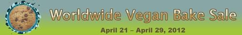 2012 Worldwide Vegan Bake Sale