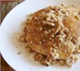 Maple Vegan Walnut Pancakes Recipe