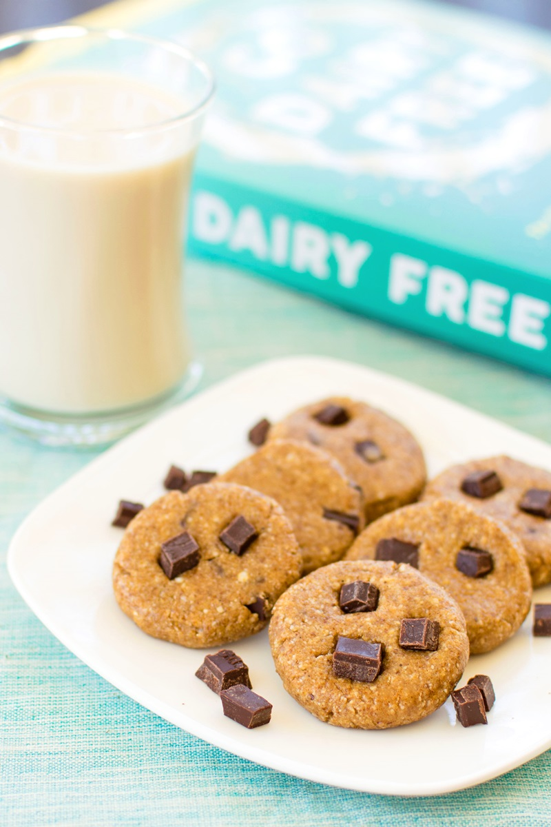 Raw Cookie Dough Bites Recipe - A sample from Go Dairy Free: The Guide and Cookbook (dairy-free, plant-based, vegan!)