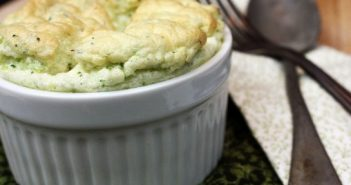 "Broccoli ""Cheese"" Dairy-Free Souffle Recipe"