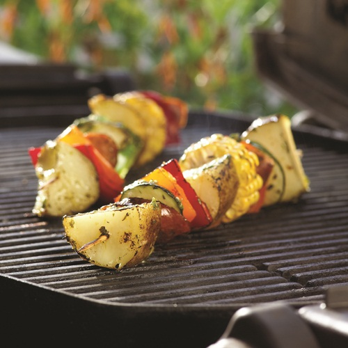 For the Barbecue: Grilled Potato Kebabs - Dairy-Free, Gluten-Free and Optionally Vegan