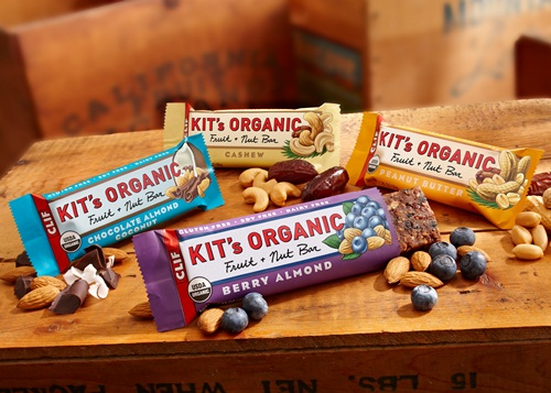 Kit's Organic Fruit & Nut Bars by Clif Bar - Vegan, Gluten-Free, Soy-Free, Non-Dairy