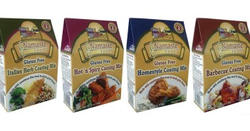 Namaste Foods Coating Mixes - 4 Variaties, all Gluten-Free and Free of Top Allergens