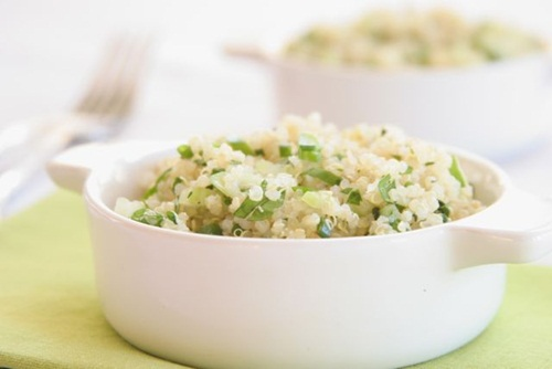 Dairy-Free & Gluten-Free Quinoa Pilaf with Fresh Herbs