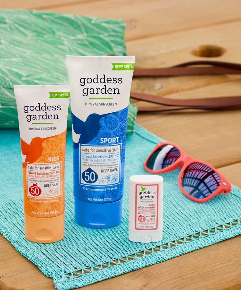 The Best Sunscreen for Sensitive Skin and Allergies - including gluten-free and vegan options