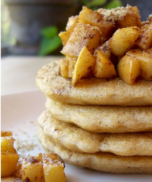 Whole Wheat Vegan Pancakes and Waffles