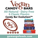Go Max Go Vegan Candy Bars - All-Natural & Dairy-Free
