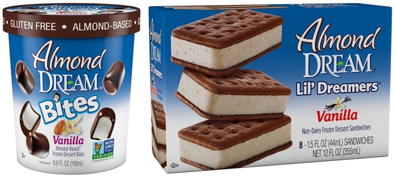 Dairy-Free & Vegan Frozen Ice Cream Bars and Sandwiches