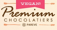 Premium Chocolatiers produces all types of dark, milk, and white chocolate confections without dairy, nuts, gluten or eggs (Dairy-Free Brands Top Pick!)
