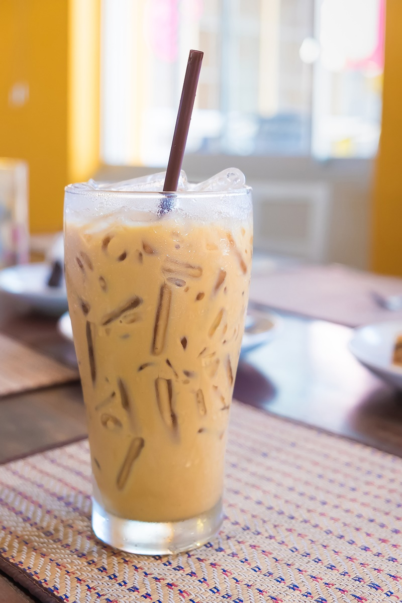Vegan Iced Coffee with a Kahlua Kick (cool, easy dairy-free recipe)