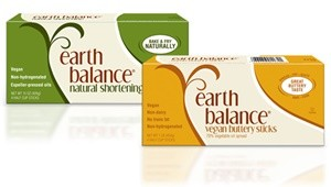 Earth Balance Buttery Sticks and Shortening Butter Substitutes for Dairy-Free Baking