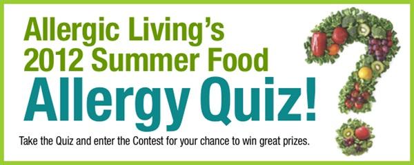 Allergic Living Summer Food Allergy Quiz