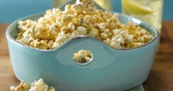Cheesy Dairy-Free Popcorn Recipe - easy, healthy, vegan, allergy-friendly, and delicious!