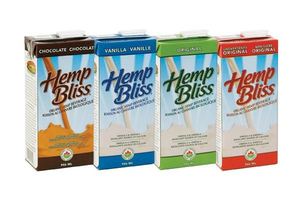 Hemp Bliss Hemp Milk Alternative - Canada
