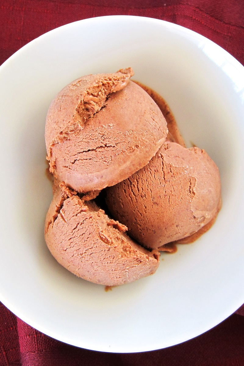 Maple Mocha Vegan Ice Cream - a simple, creamy, dairy-free, soy-free DELICIOUS recipe.
