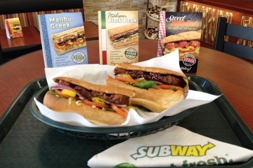 Subway goes Vegan