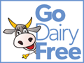 The Dairy-Free Community - 120x90 Go Dairy Free Badge