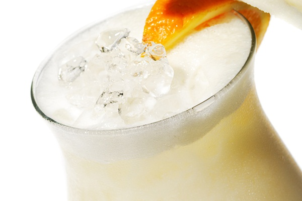Orange Vegan Ice Cream Float