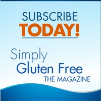 Simply Gluten Free Magazine - Click to Subscribe!