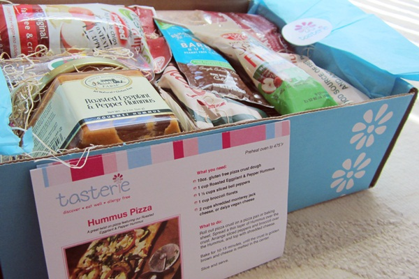 TasterieBox: Allergy-Friendly Sample Foods Delivery