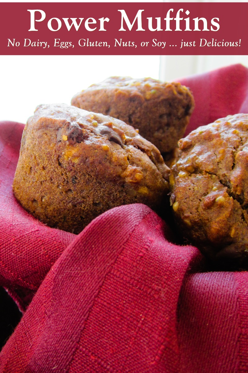 Vegan Gluten Free Power Muffins Recipe Healthy Hearty Delicious