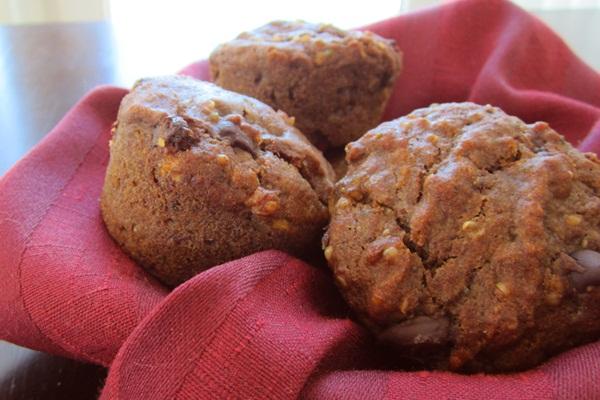 Vegan Power Muffins - Healthy Gluten-Free Muffin Recipe