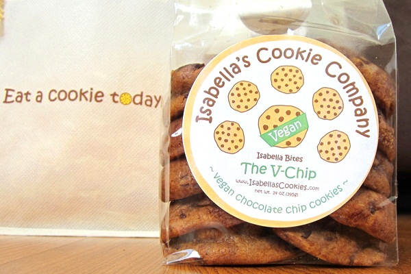 Isabella's Cookies Review - Vegan Chocolate Chip